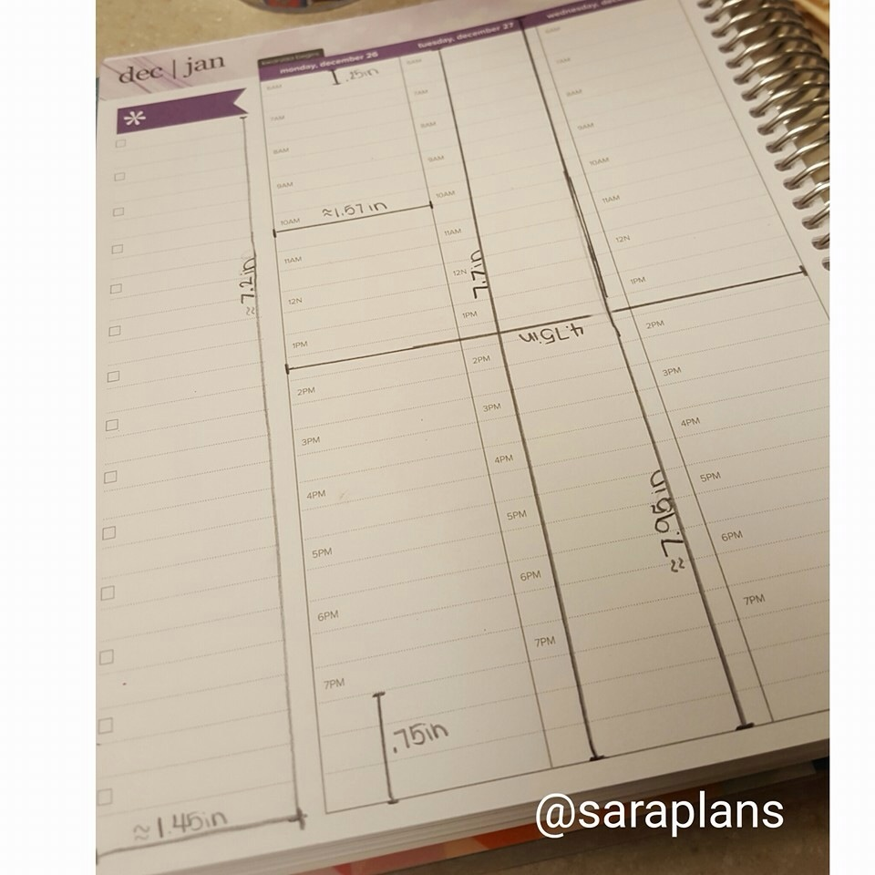 New EC Hourly Measurements | My Erin Condren